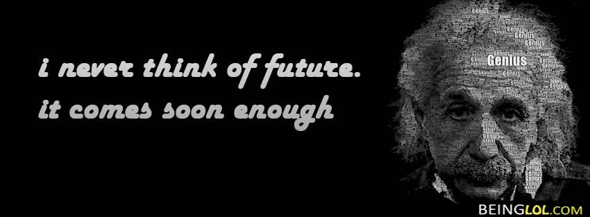 Einstein Quote  Facebook Cover