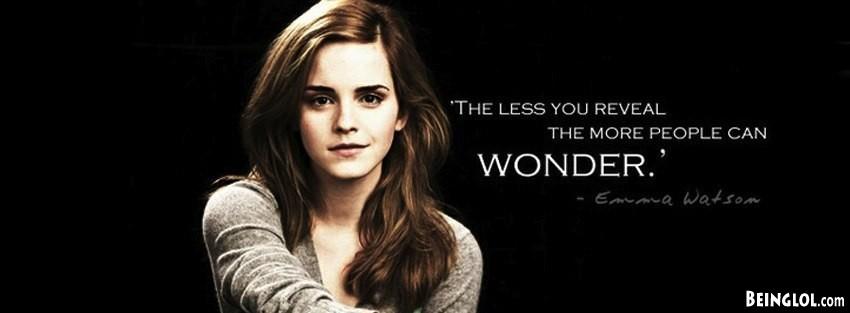 Emma Watson Facebook Cover