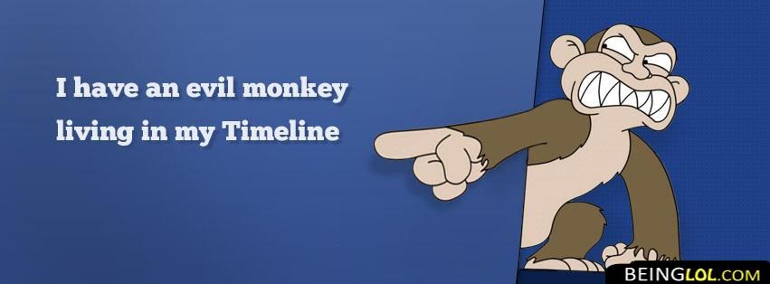 evil monkey funny Cover