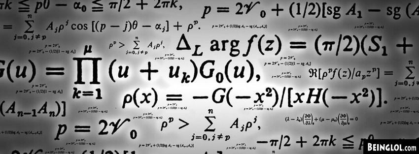 Formulas Math Equations  Cover