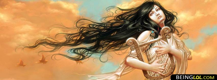 Girl with instrument FB Cover Cover