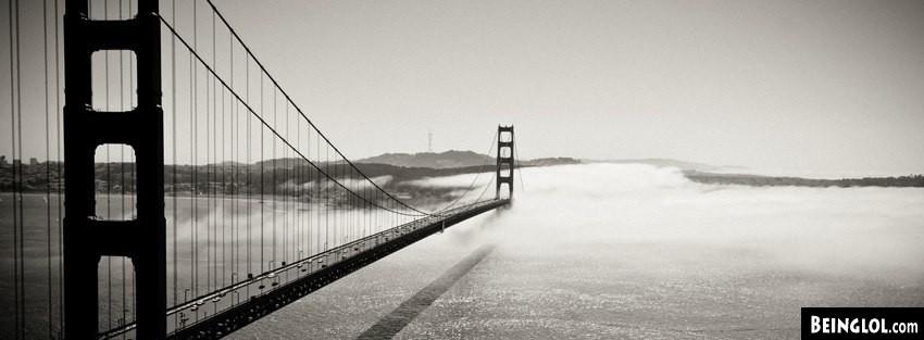Golden Gate Bridge Fog Cover