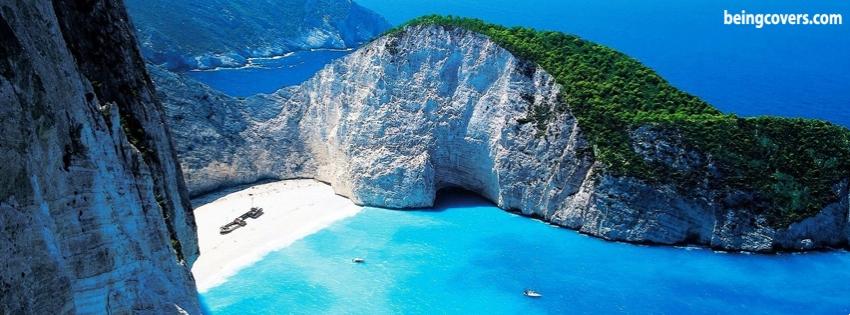 Greece Beach Facebook Cover