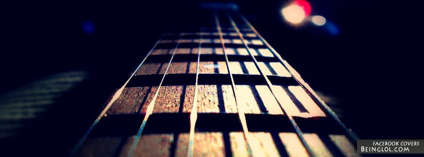 Guitar Strings Facebook Cover