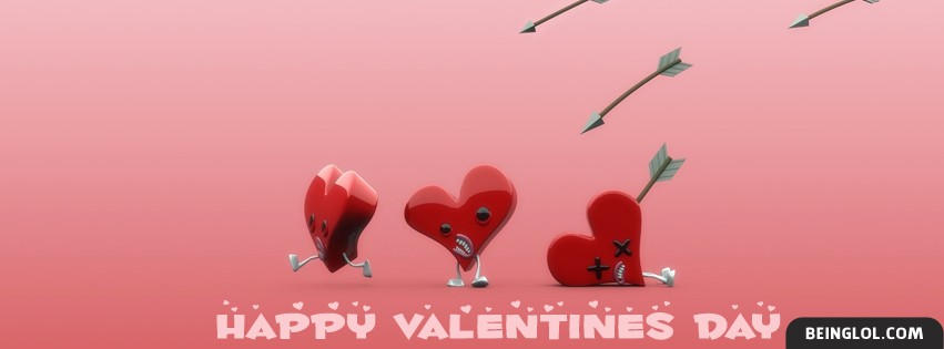 Happy Valentines Day Facebook Cover