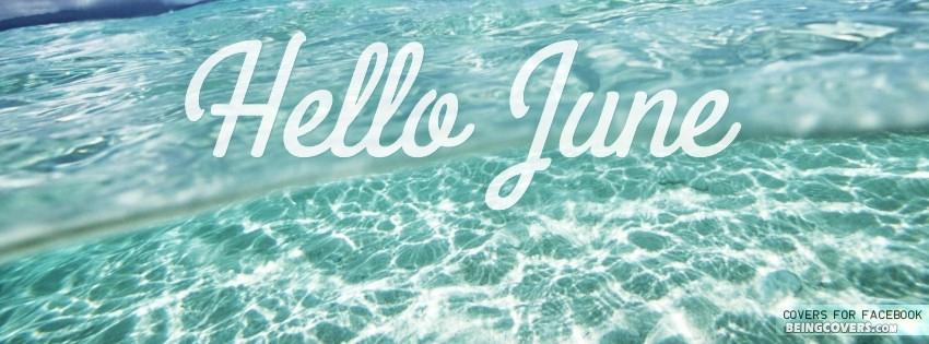 Hello June. Cover