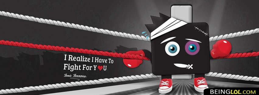I Fight For You Facebook Cover