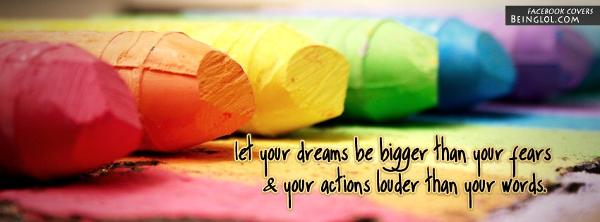 Let Your Dreams Be Bigger Cover
