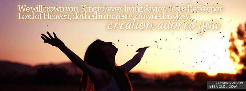 Living Savior Jesus Redeemer Facebook Cover