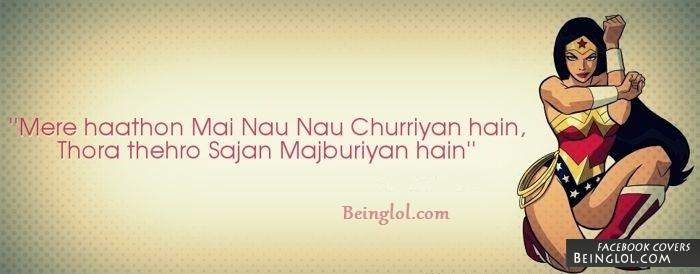 Mere Hatho Me Nau Nau Churiya Hai Facebook Cover