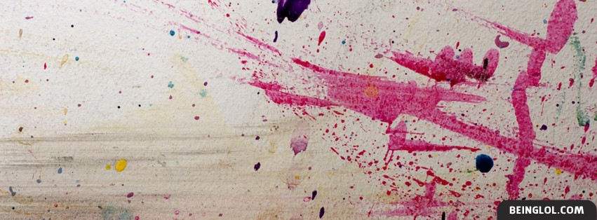 Modern Art Painting Facebook Cover