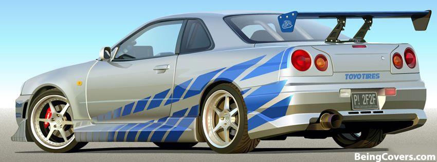 Nissan SkyLine GTR Cover