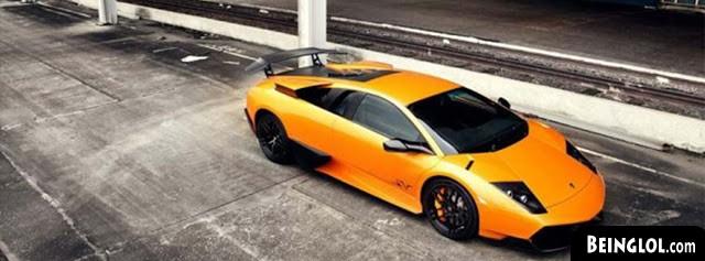 Orange Lamborghini Cover