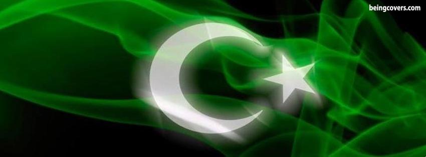 Pakistan Flag Facebook Cover