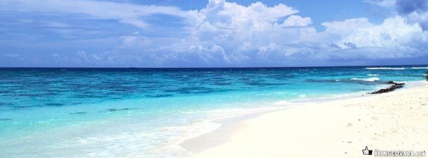 Peaceful White Sand Beach Cover