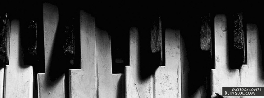 Piano Keys Facebook Cover
