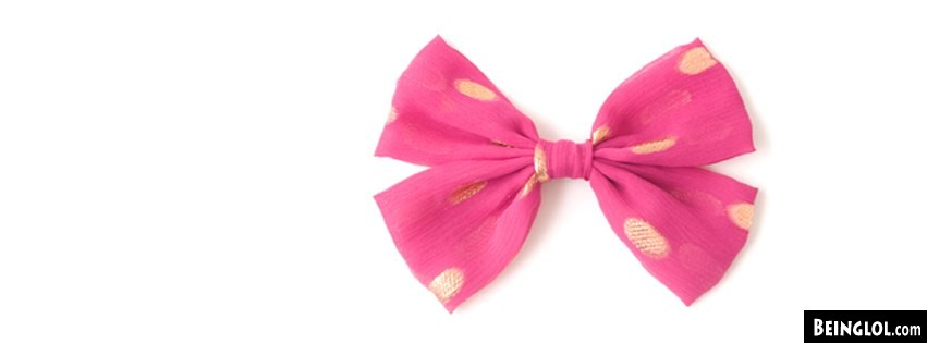 Pink Bow Facebook Covers  Cover
