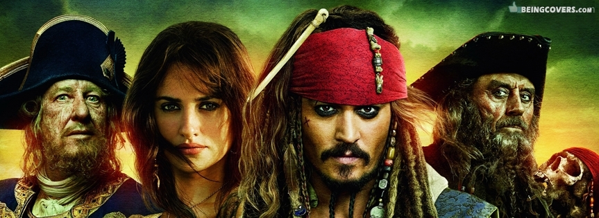 Pirates of The Caribbean Movie Cover