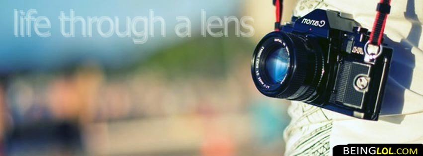 Quote About Photography Facebook Cover