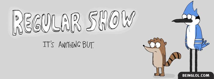 Regular Show Facebook Cover
