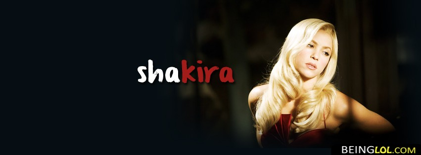 Shakira FB Cover Facebook Cover