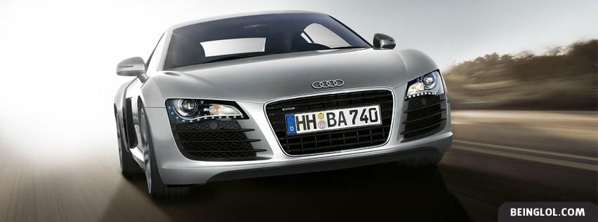 Silver Audi R8 Cover
