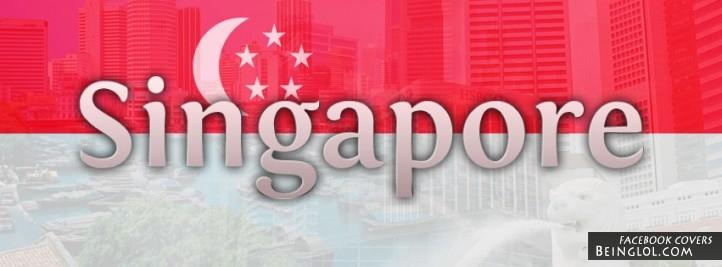 Singapore Flag Cover