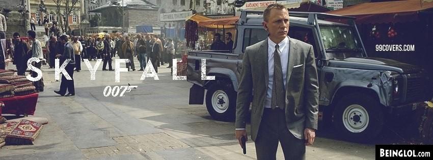 Skyfall Bond Cover