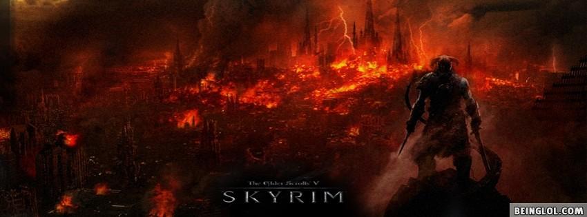 Skyrim Facebook Cover