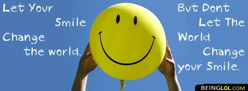 Smile Facebook Cover