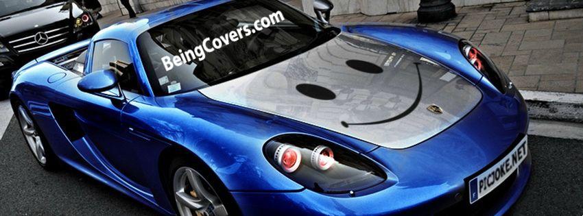 Smiley Porsche Cover