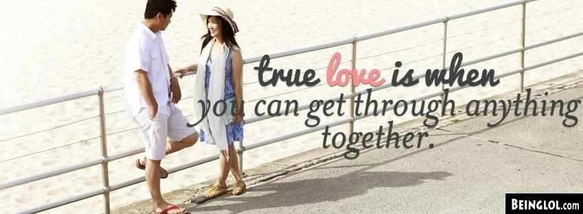 True Love Facebook Cover