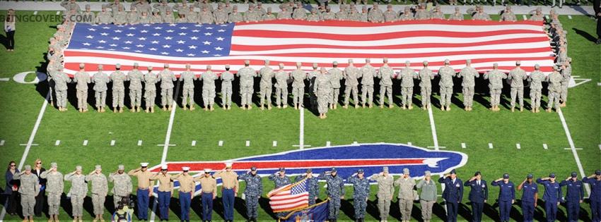 Usa Flag Facebook Cover