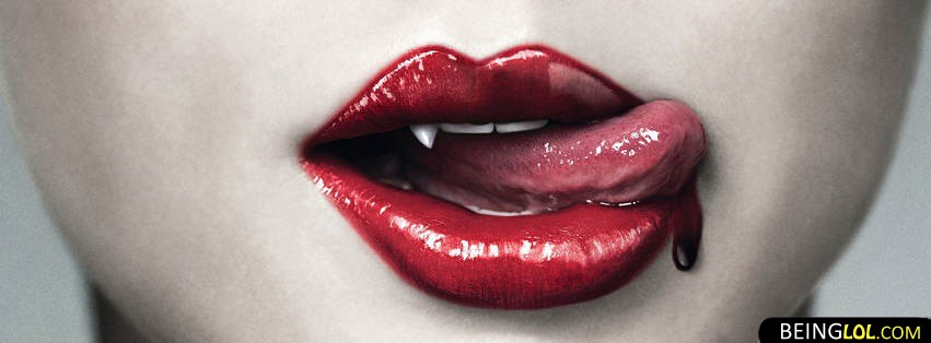 Vampire Girl Facebook Cover