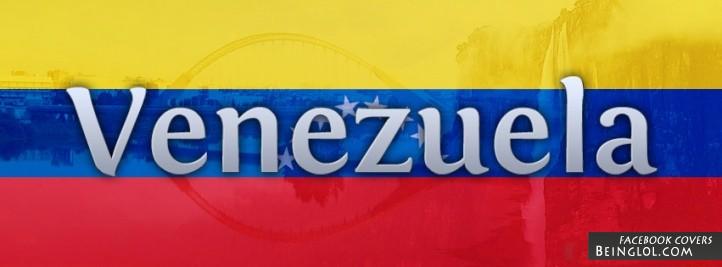 Venezuela Flag Cover