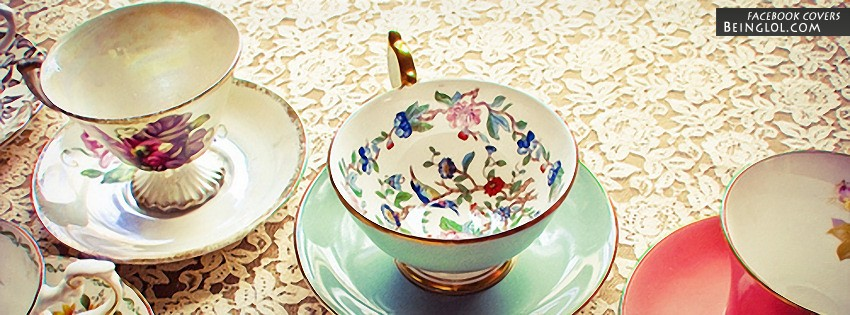 Vintage Tea Cups Cover