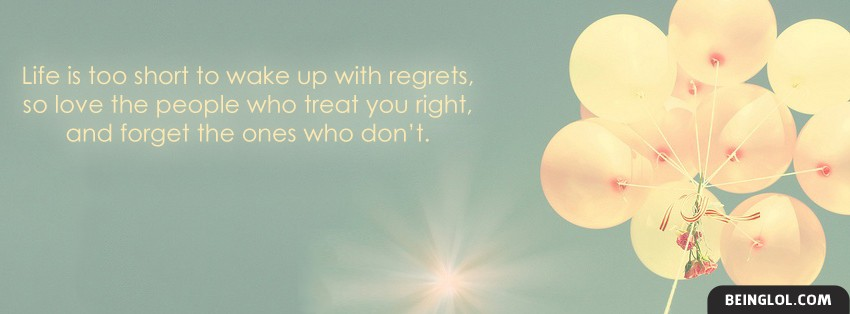Wake Up With Regrets Facebook Cover