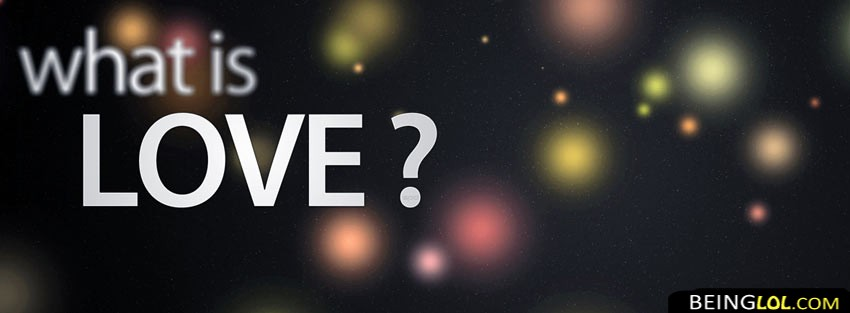 What is love ? Cover