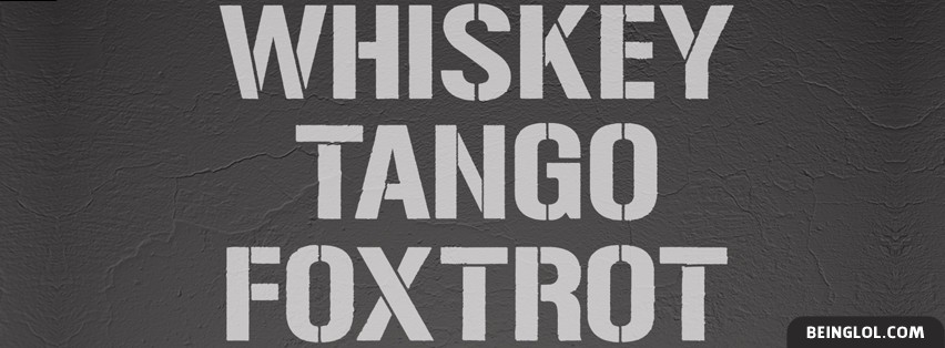 Whiskey Tango FoxTrot Cover
