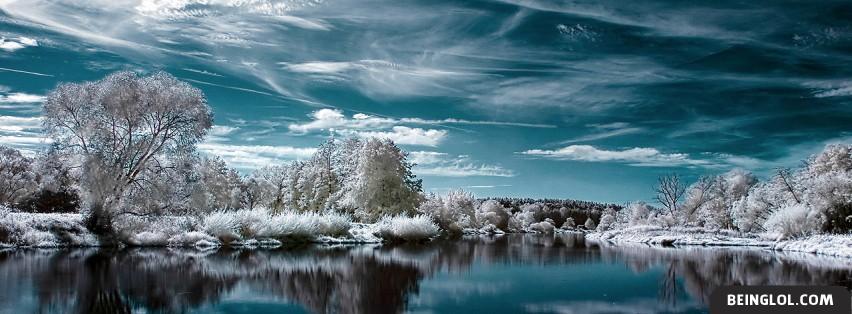 Winter Lake Facebook Cover