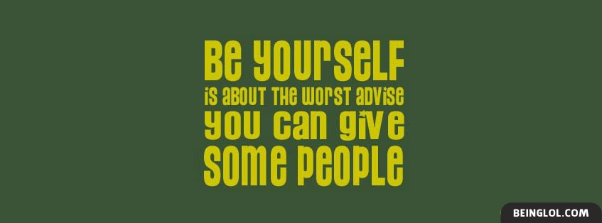 Worst Advice Facebook Cover