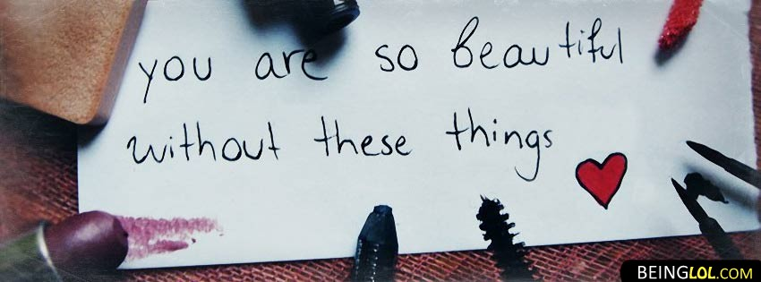 You Are So Beautiful Facebook Cover