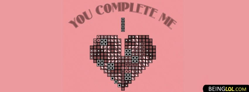 You Complete Me Cover