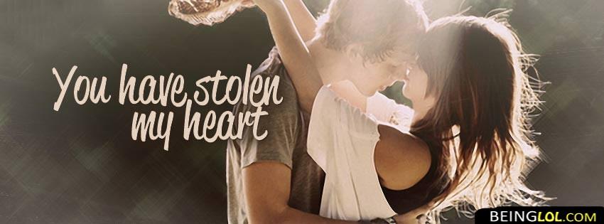 You Stolen My Heart Facebook Cover