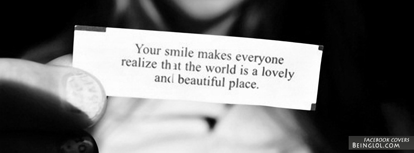 Your Smile Facebook Cover