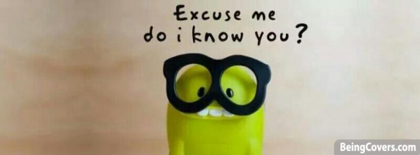 Excuse Me Do I Know you? Cover
